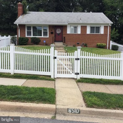 6510 District Heights Parkway, District Heights, MD 20747 - MLS#: 1000170621
