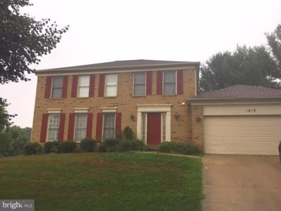 1619 Golf Course Drive, Bowie, MD 20721 - MLS#: 1000170635
