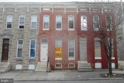 2330 Druid Hill Avenue, Baltimore, MD 21217 - MLS#: 1000173561