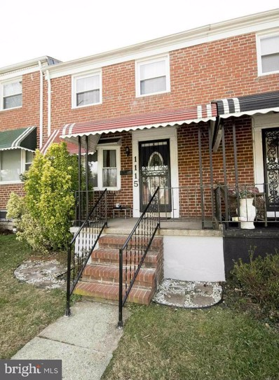 1115 E. Northern Parkway, Baltimore, MD 21239 - MLS#: 1000173627