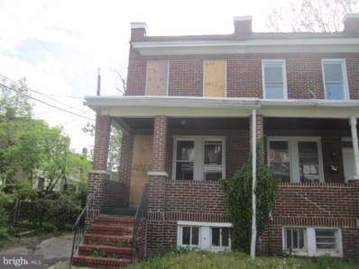 4023 Wilsby Avenue, Baltimore, MD 21218 - MLS#: 1000173805