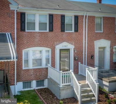 1547 Woodbourne Avenue, Baltimore, MD 21239 - MLS#: 1000174051