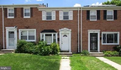 623 Markham Road, Baltimore, MD 21229 - MLS#: 1000174567