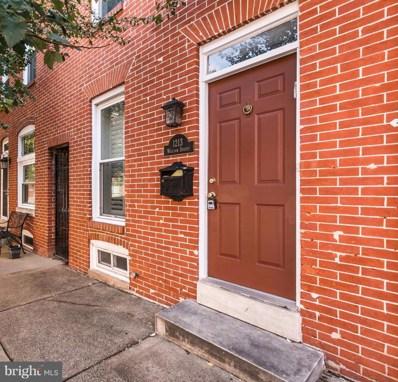 1213 William Street, Baltimore, MD 21230 - MLS#: 1000175593