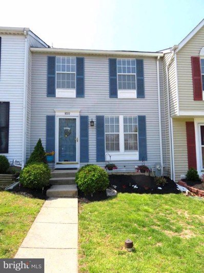 850 Angel Valley Court, Edgewood, MD 21040 - MLS#: 1000178859
