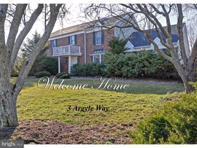 3 Argyle Way, West Windsor, NJ 08550 - MLS#: 1000184654