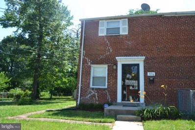 618 71ST Avenue, Capitol Heights, MD 20743 - MLS#: 1000188159