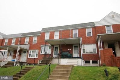 7527 Durwood Road, Baltimore, MD 21222 - MLS#: 1000199613