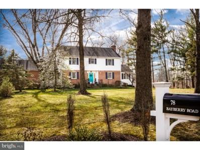 78 Bayberry Road, Princeton, NJ 08540 - MLS#: 1000207630