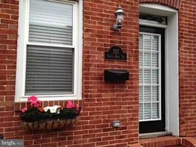 707 Rose Street, Baltimore, MD 21224 - MLS#: 1000216336