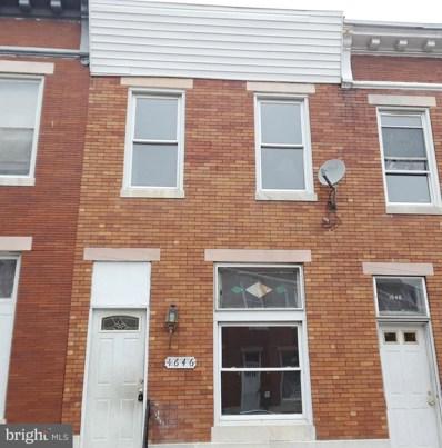 1646 Darley Avenue, Baltimore, MD 21213 - MLS#: 1000226936