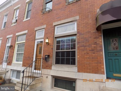 1247 Hull Street, Baltimore, MD 21230 - MLS#: 1000227090