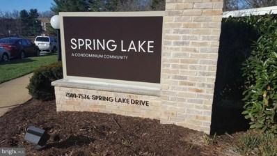 7501 Spring Lake Drive UNIT B-2, Bethesda, MD 20817 - MLS#: 1000228612