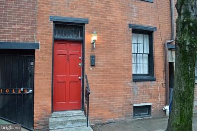 1705 Lancaster Street, Baltimore, MD 21231 - MLS#: 1000228996