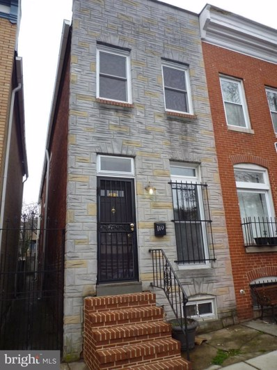 110 Chester Street S, Baltimore, MD 21231 - MLS#: 1000245106