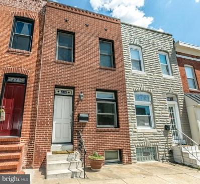 2544 Fleet Street, Baltimore, MD 21224 - MLS#: 1000249258