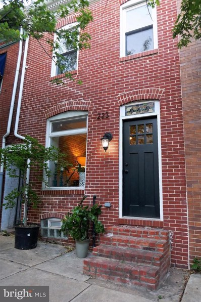 223 S Wolfe Street, Baltimore, MD 21231 - #: 1000249744