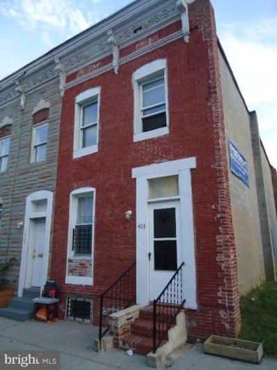 403 Pitman Place, Baltimore, MD 21202 - MLS#: 1000251472