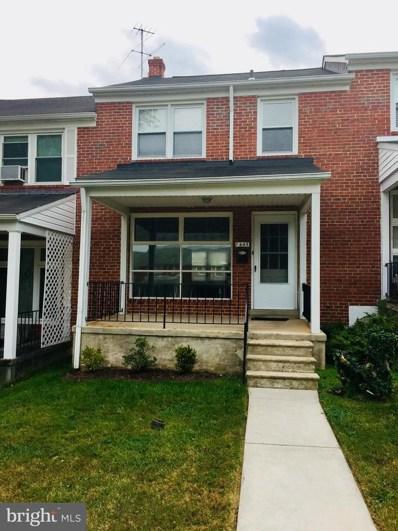 1445 Walker Avenue, Baltimore, MD 21239 - MLS#: 1000257728