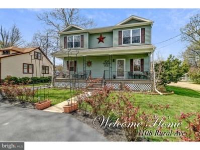 1108 Rural Avenue, Voorhees, NJ 08043 - MLS#: 1000258854