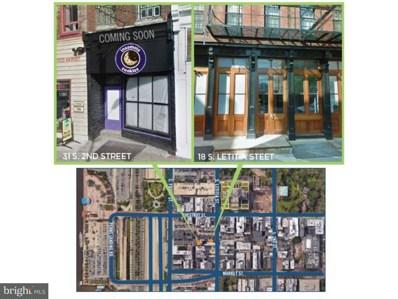 18 Letitia Street, Philadelphia, PA 19106 - MLS#: 1000260204