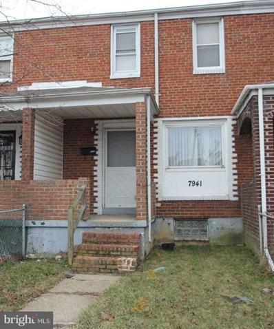 7941 Saint Bridget Lane, Baltimore, MD 21222 - MLS#: 1000261222