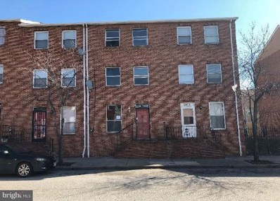 1419 Aisquith Street, Baltimore, MD 21202 - MLS#: 1000261324