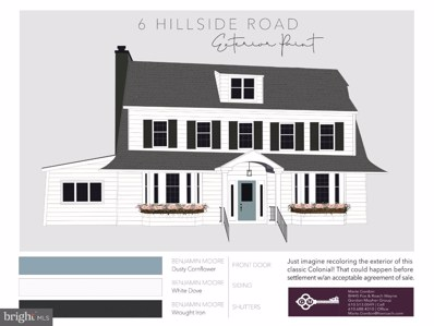 6 Hillside Road, Wayne, PA 19087 - MLS#: 1000267020