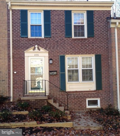 2431 Ansdel Court, Reston, VA 20191 - MLS#: 1000267082