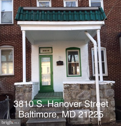 3810 Hanover Street S, Baltimore, MD 21225 - MLS#: 1000268590