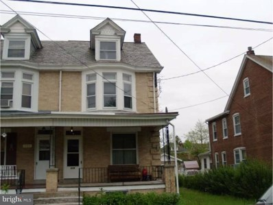 526 N Evans Street, Pottstown, PA 19464 - MLS#: 1000273601