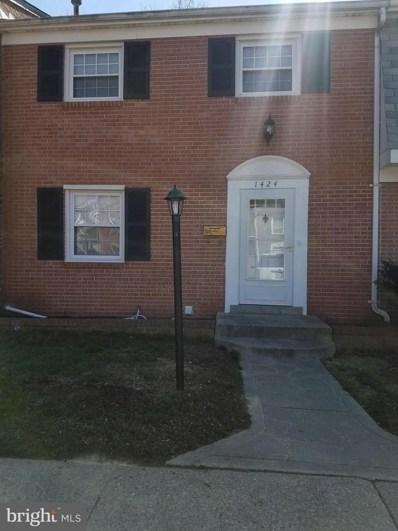 1424 Potomac Heights Drive, Fort Washington, MD 20744 - MLS#: 1000274156