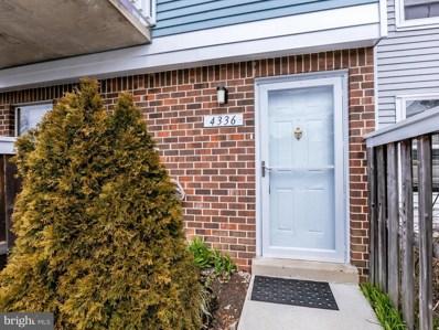 4336 Pembrook Village Drive UNIT 36, Alexandria, VA 22309 - MLS#: 1000274686