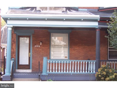 4324 Larchwood Avenue, Philadelphia, PA 19104 - MLS#: 1000277266