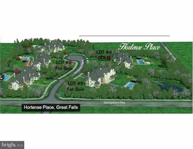 805 Hortense Place, Great Falls, VA 22066 - MLS#: 1000284342