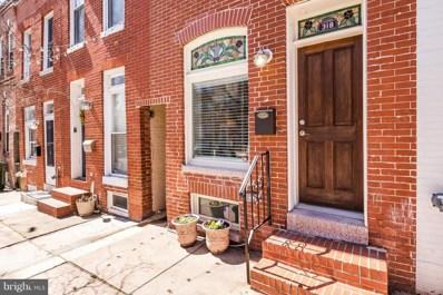 318 Collington Avenue S, Baltimore, MD 21231 - MLS#: 1000285866
