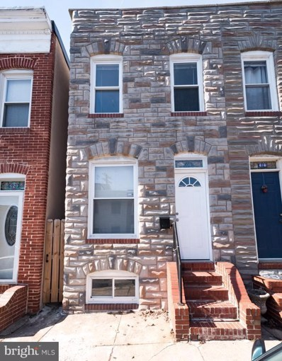 618 Rose Street, Baltimore, MD 21224 - MLS#: 1000288078