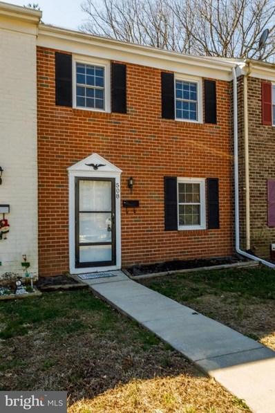 508 Olde Greenwich Cir, Fredericksburg, VA 22408 - MLS#: 1000288304