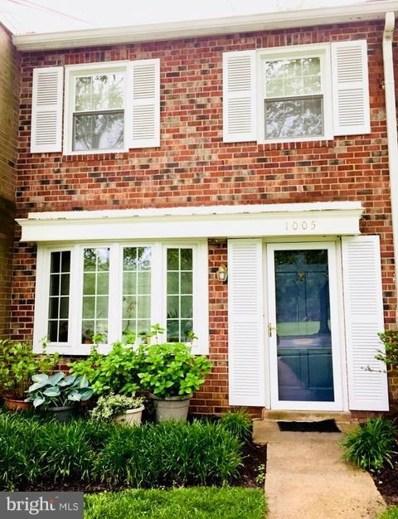 1005 Nelson Street UNIT 38, Rockville, MD 20850 - MLS#: 1000288584