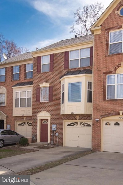 145 Emory Woods Court, Gaithersburg, MD 20877 - MLS#: 1000289672