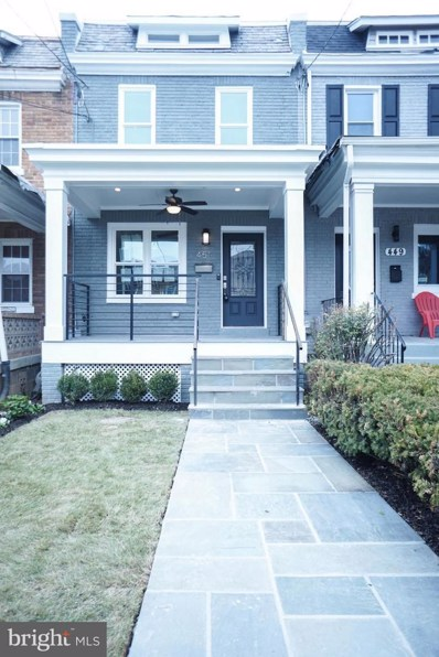 451 Delafield Place NW, Washington, DC 20011 - MLS#: 1000291106
