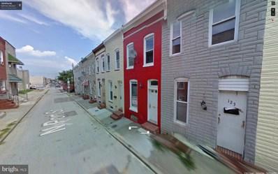 125 Port Street, Baltimore, MD 21224 - MLS#: 1000292690
