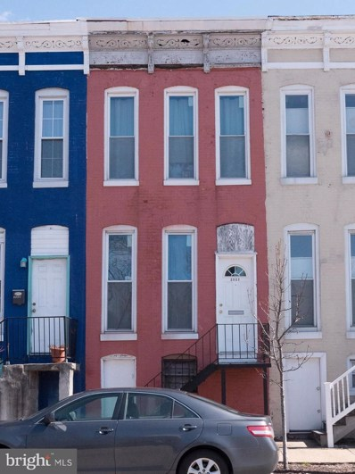 2537 Howard Street, Baltimore, MD 21218 - MLS#: 1000302006