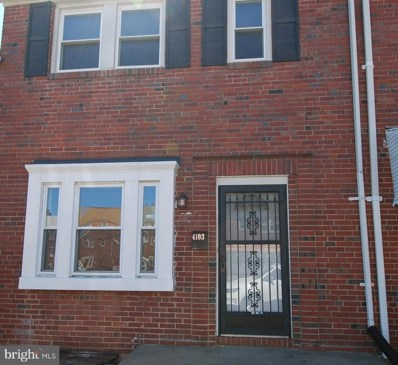 4103 Glenarm Avenue, Baltimore, MD 21206 - MLS#: 1000304080