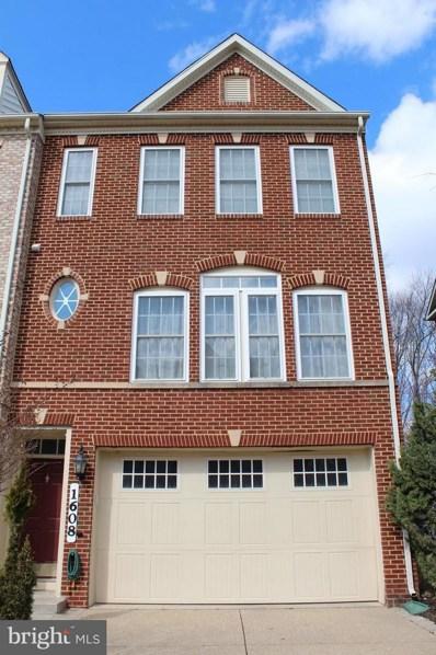 1608 Regent Manor Court, Silver Spring, MD 20904 - MLS#: 1000304420
