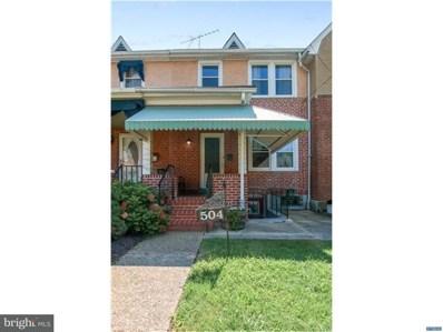 504 S Union Street, Wilmington, DE 19805 - MLS#: 1000307442