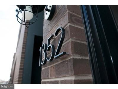 1352 N Mascher Street, Philadelphia, PA 19122 - MLS#: 1000308064