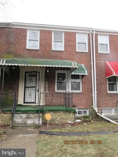 4010 Garrison Boulevard, Baltimore, MD 21215 - MLS#: 1000316404