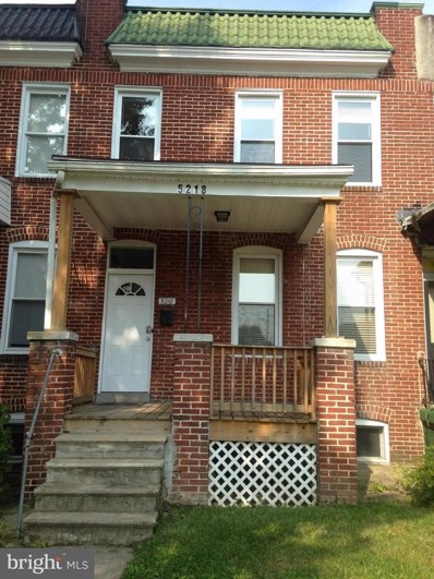 5218 Ivanhoe Avenue, Baltimore, MD 21212 - MLS#: 1000318864