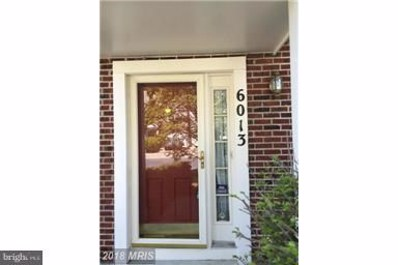 6013 Rose Bay Drive, District Heights, MD 20747 - MLS#: 1000328096
